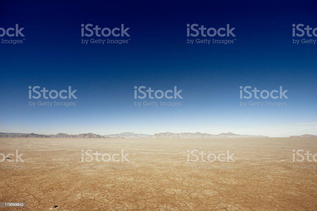 Vast Dry Land royalty-free stock photo