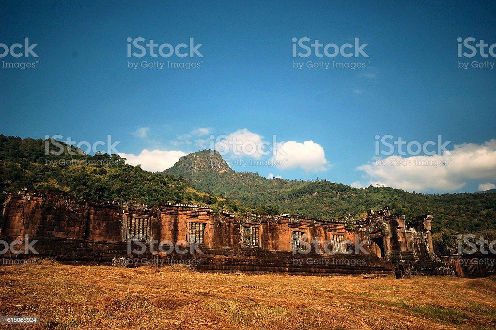Vat Phou stock photo