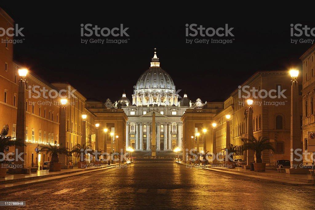 Vatican City in Rome, Italy royalty-free stock photo