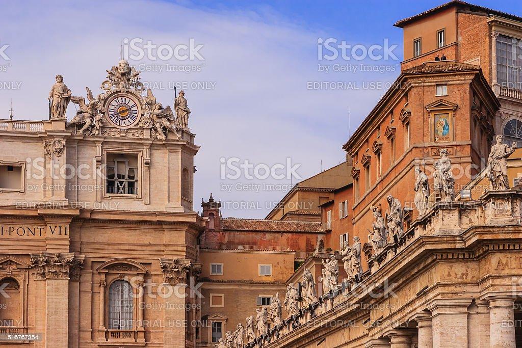 Vatican City - Sistine Chapel, External Daylight View stock photo