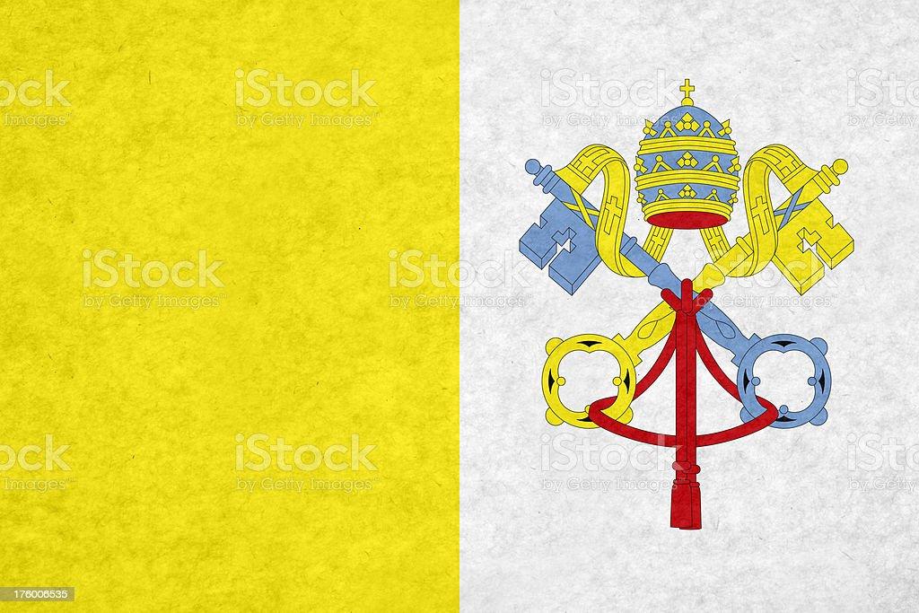 Vatican flag royalty-free stock photo