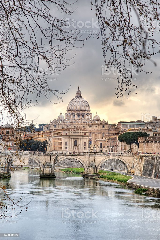Vatican Rome royalty-free stock photo