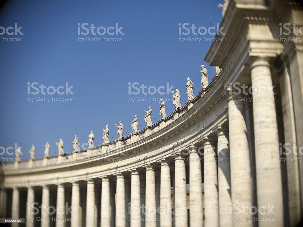 vatikan royalty-free stock photo
