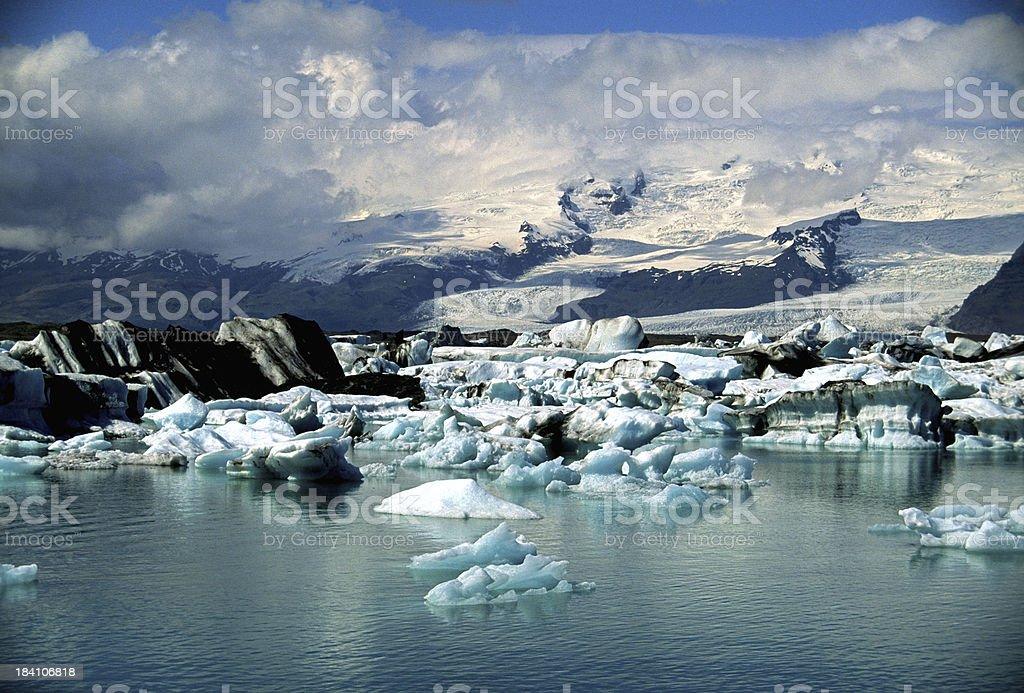 Vatnajökull stock photo