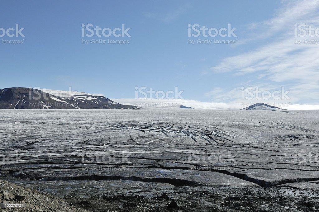 Vatnajokull glacier, Iceland royalty-free stock photo