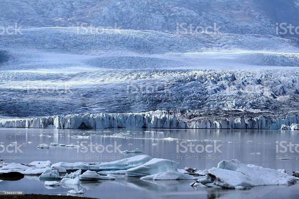 Vatnajökull Lizenzfreies stock-foto