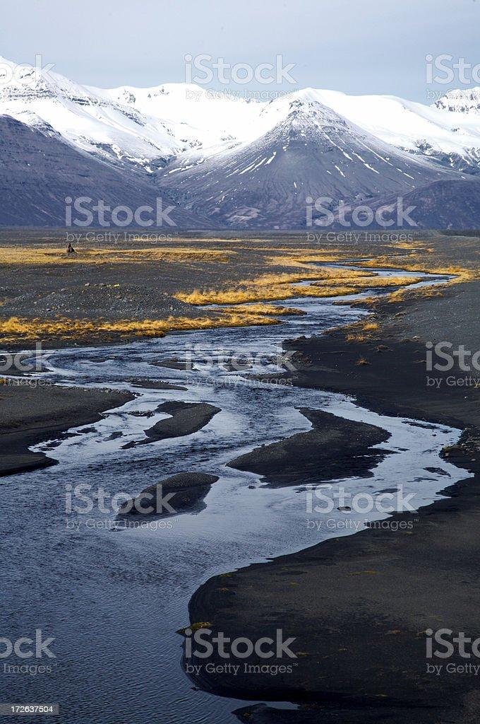 Vatnajokull stock photo
