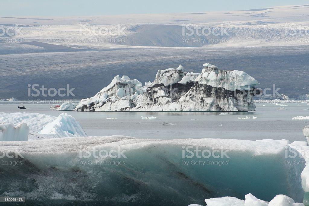 Vatnajorkull, Island Lizenzfreies stock-foto