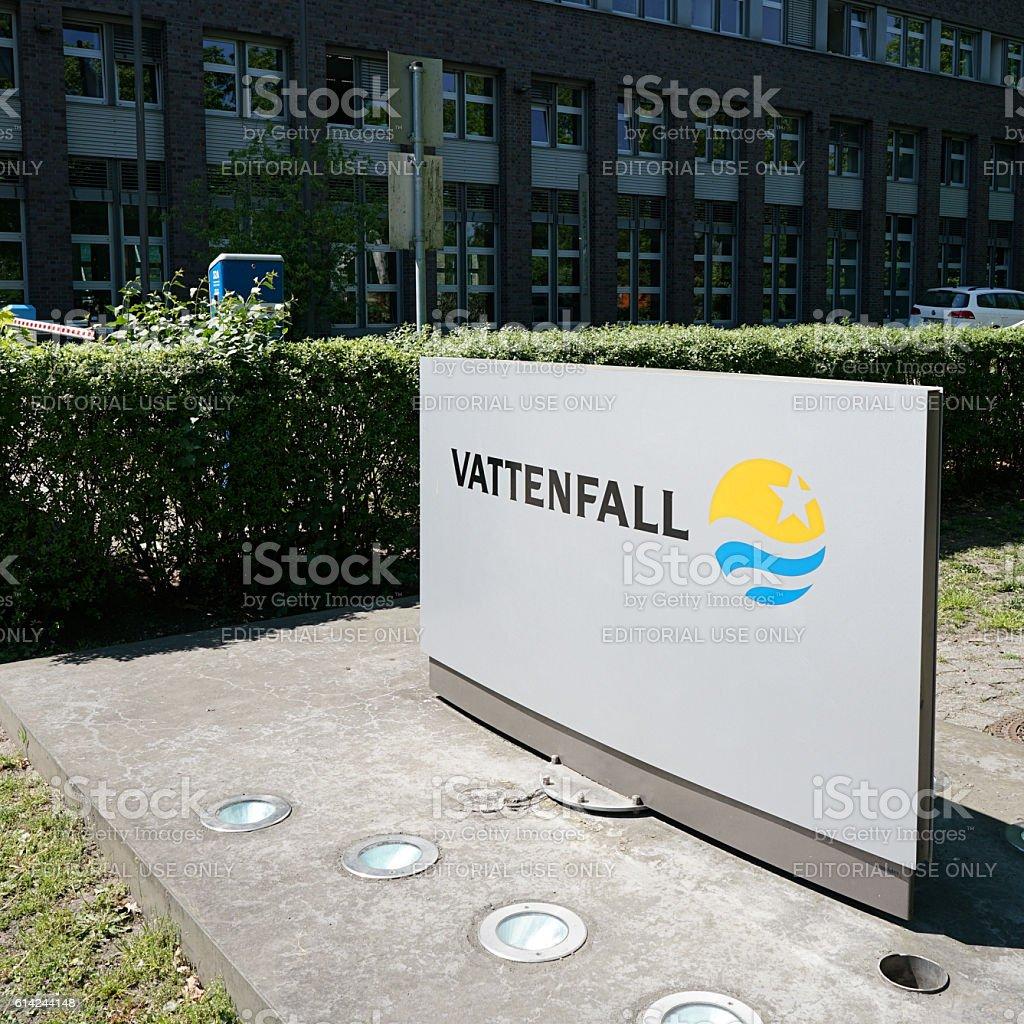 Vattenfall stock photo