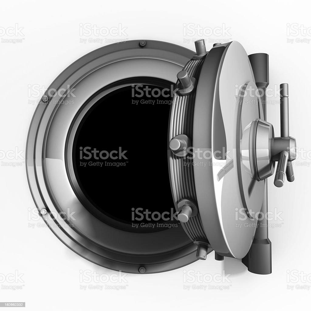 vault door stock photo