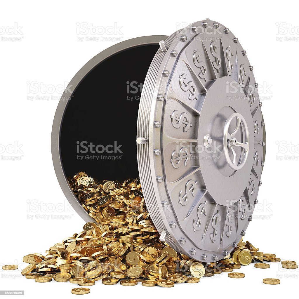 vault stock photo