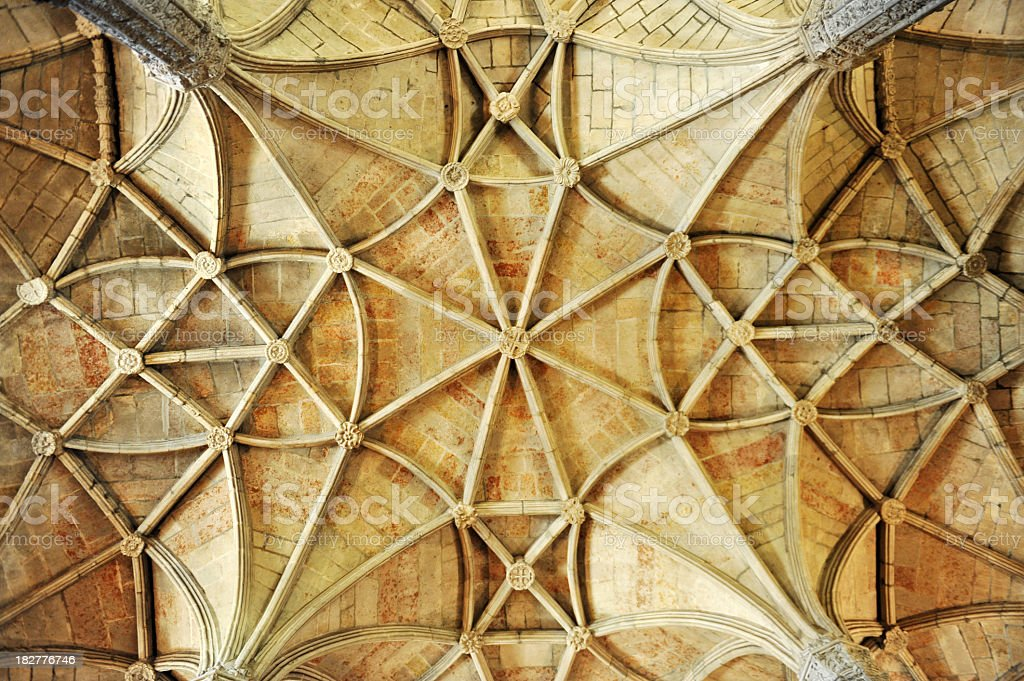 Vaulted ceiling royalty-free stock photo