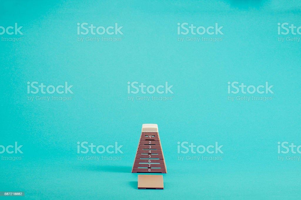 Vaulting box stock photo