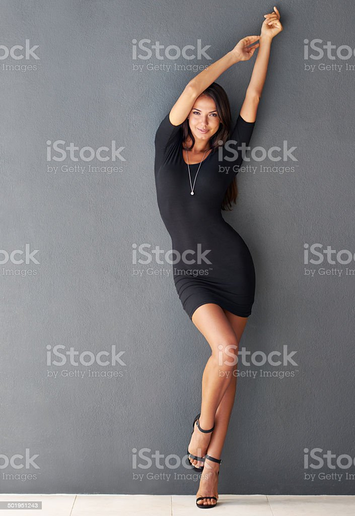 I've a few ideas about what we can do tonight stock photo