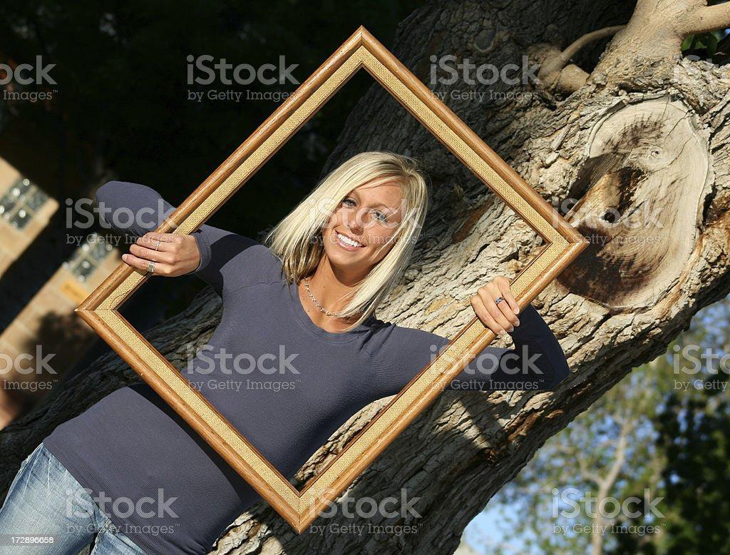I've been framed royalty-free stock photo