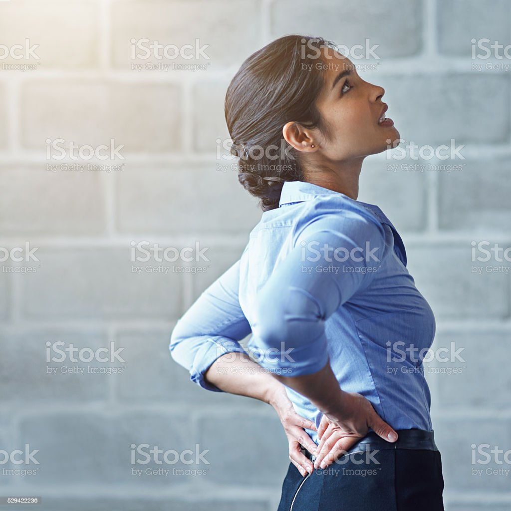 I've been sitting for way too long stock photo