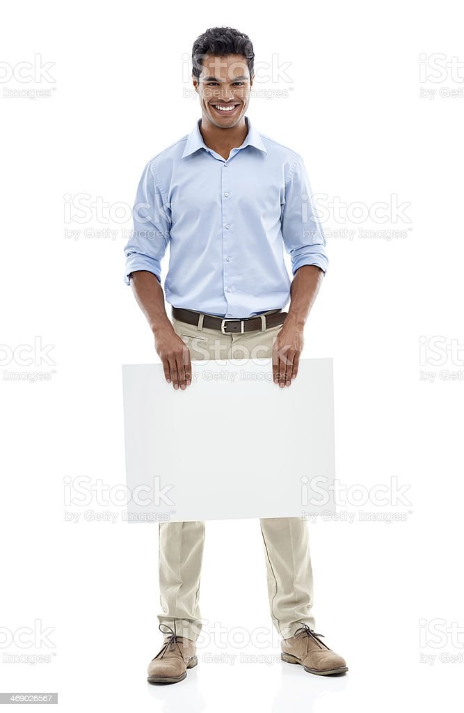 I've got an idea for you! royalty-free stock photo
