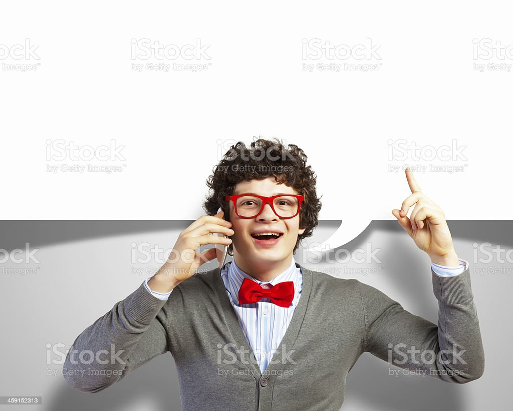 I've got an idea! royalty-free stock photo