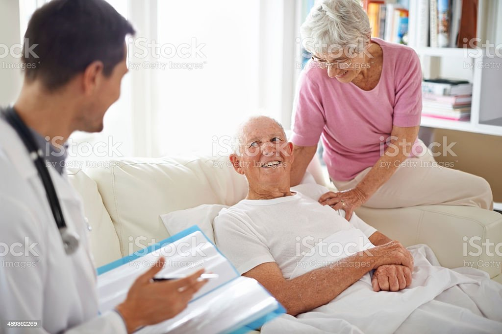 I've got great news for you! stock photo