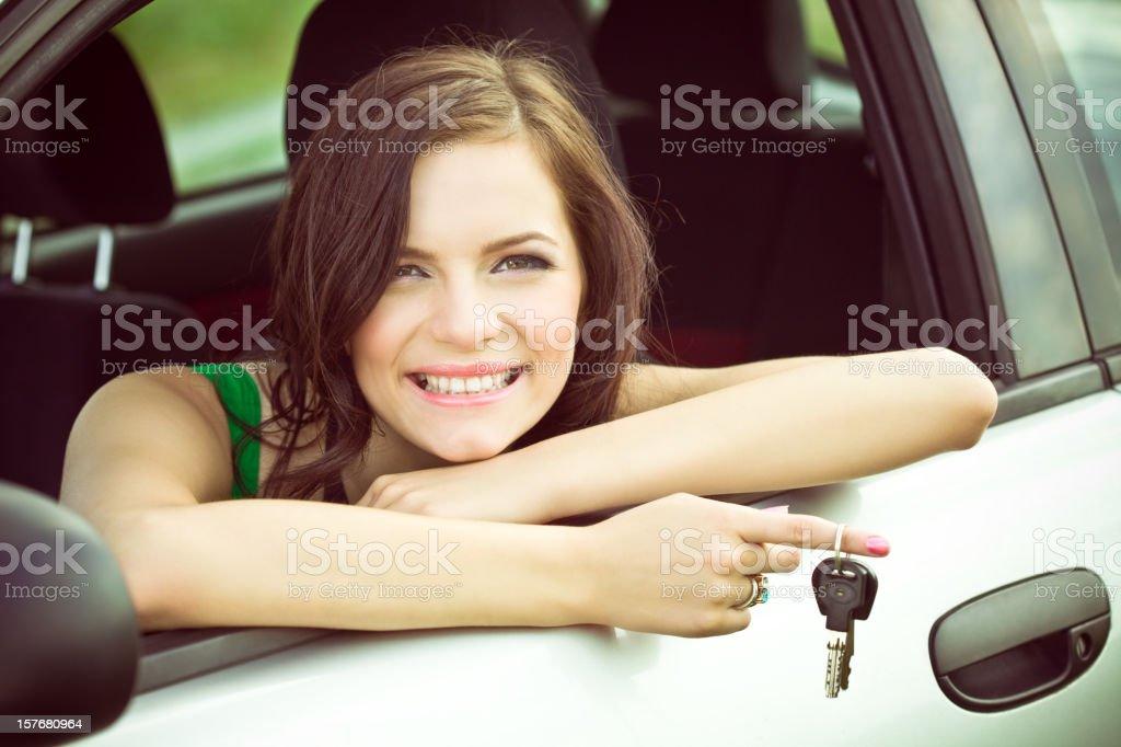 I've got new car royalty-free stock photo