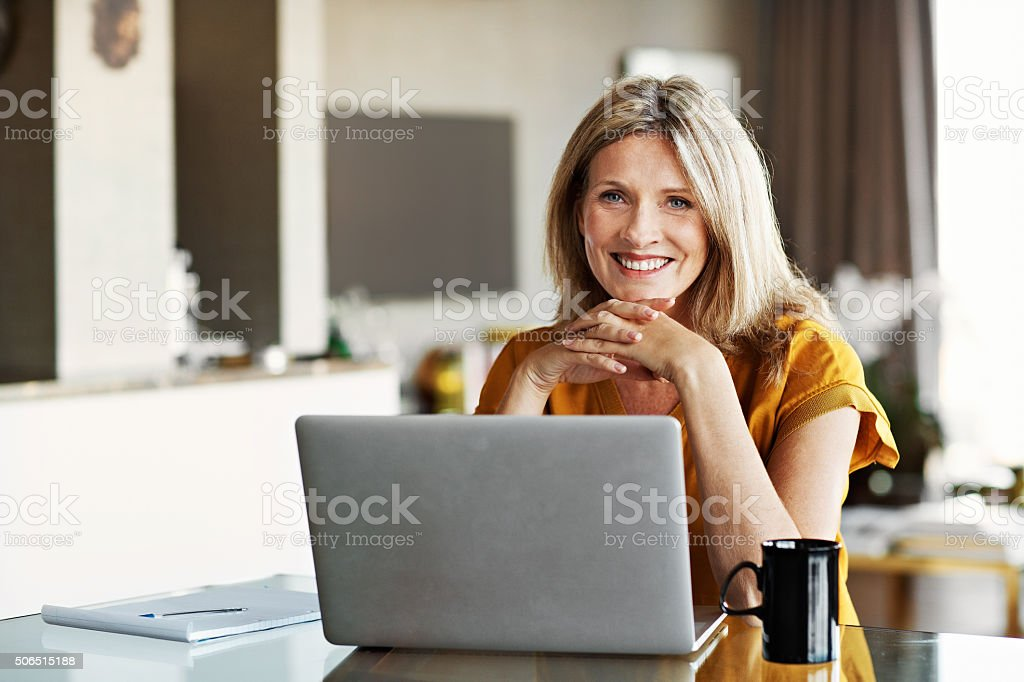I've got some online projects that are doing very well! stock photo