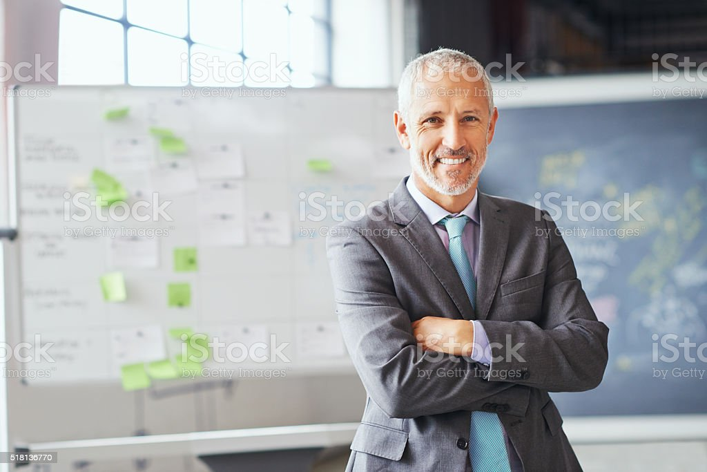 I've got the confidence to succeed stock photo