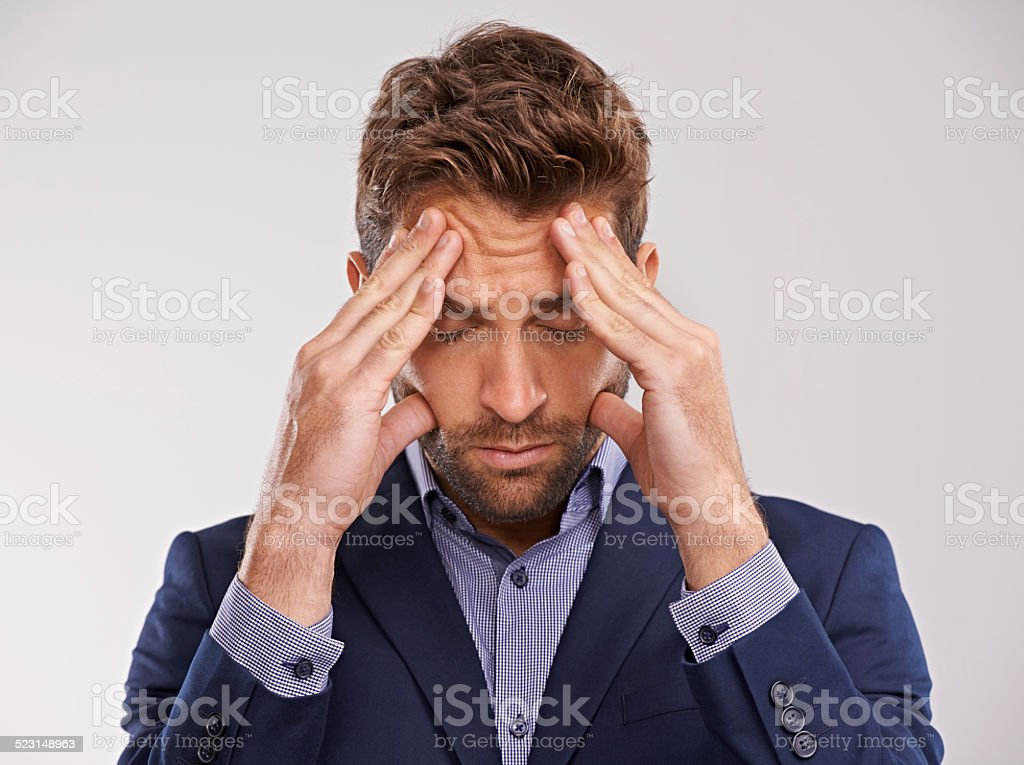 I've got to think about this stock photo