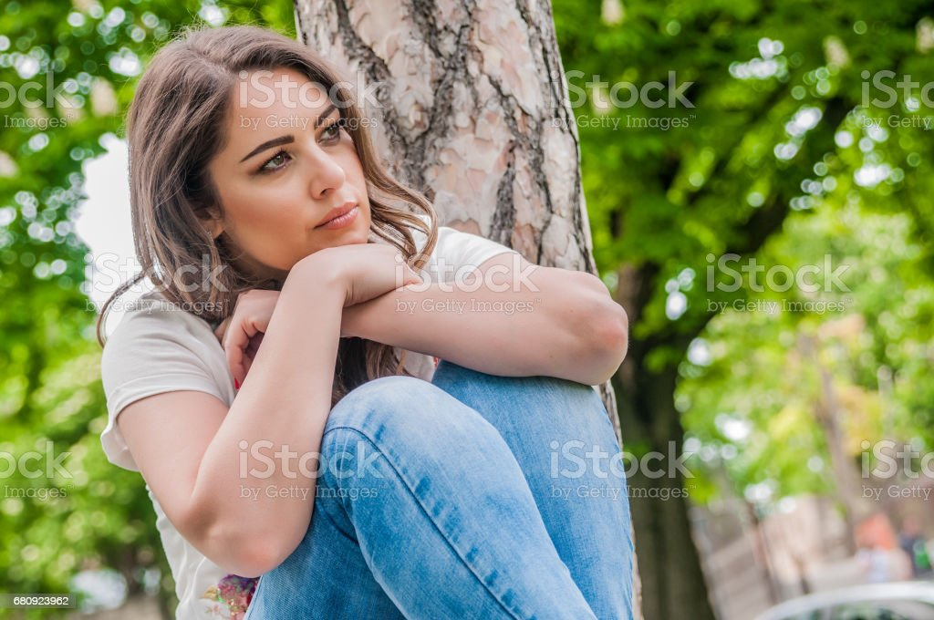 I've got too much on my mind stock photo