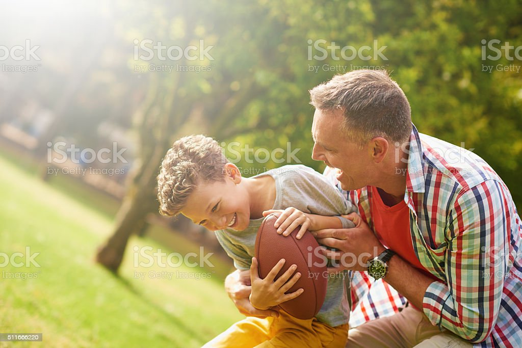I've got you now! stock photo