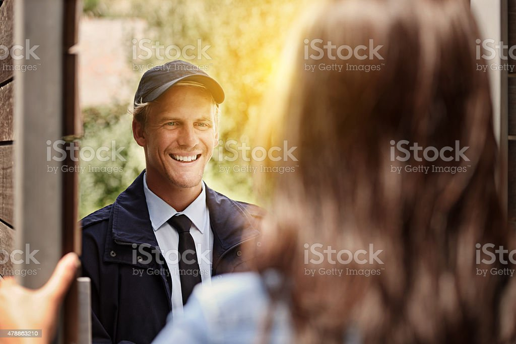 I've got your delivery stock photo