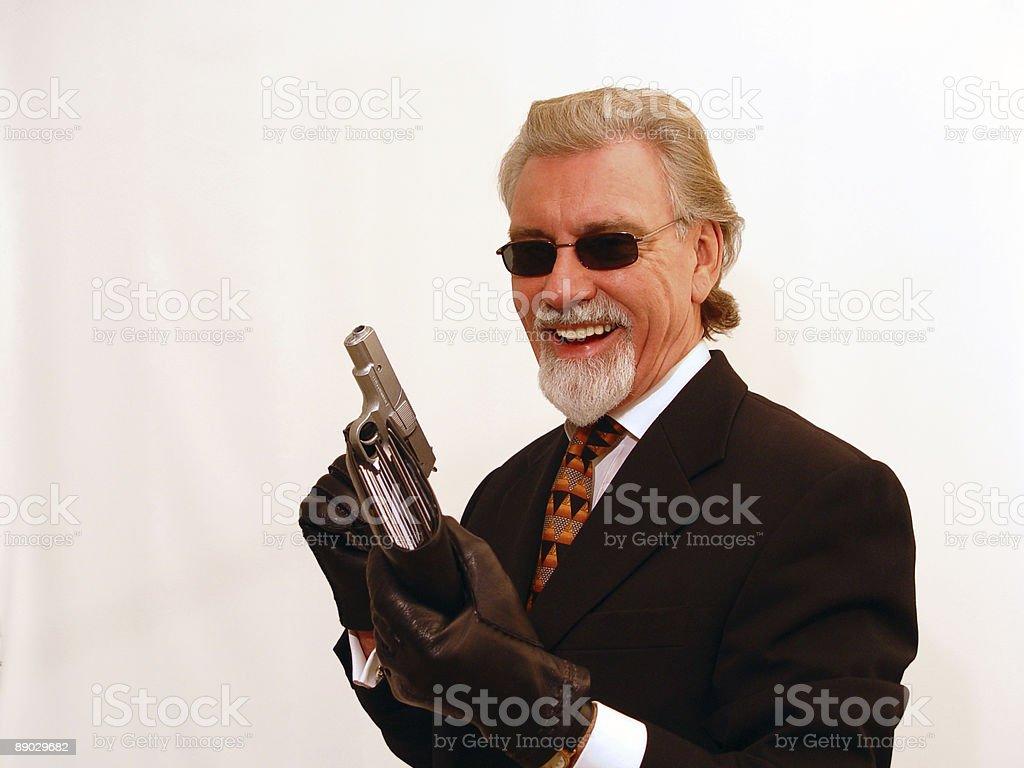 I've got your money! royalty-free stock photo