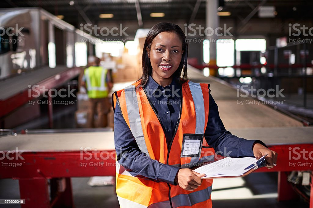 I've got your order right here stock photo