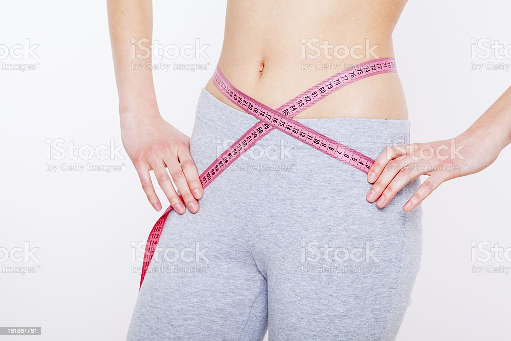 I've lost so much weight royalty-free stock photo