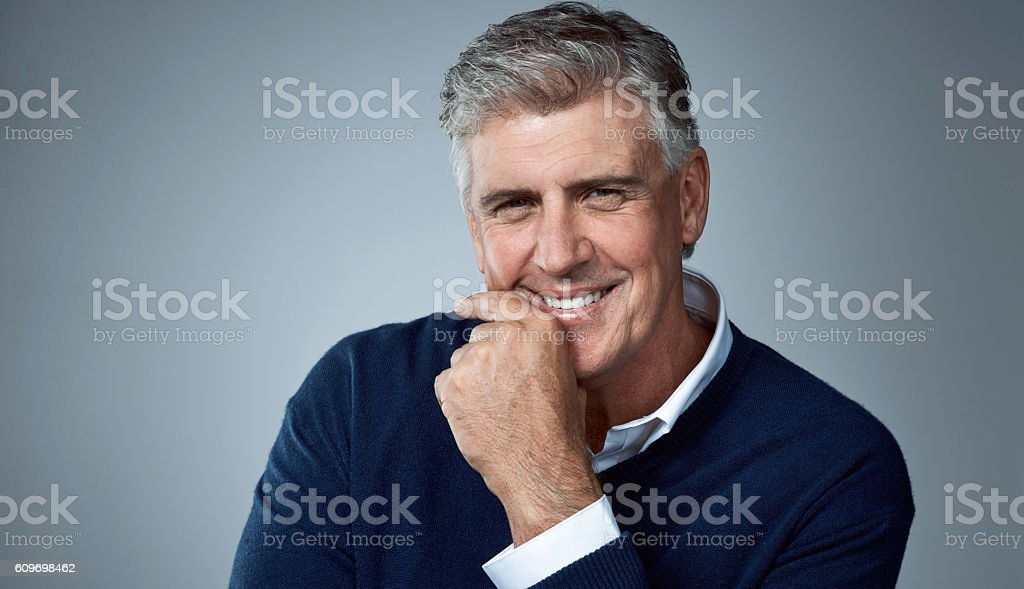 I've never been better stock photo