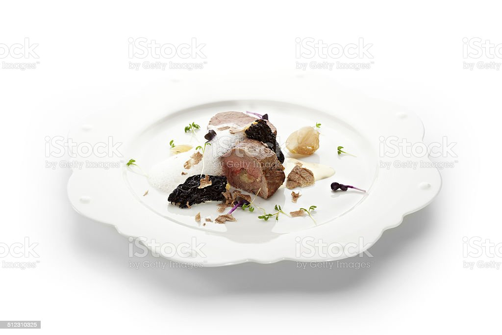 Veal Fillet Mignon stock photo