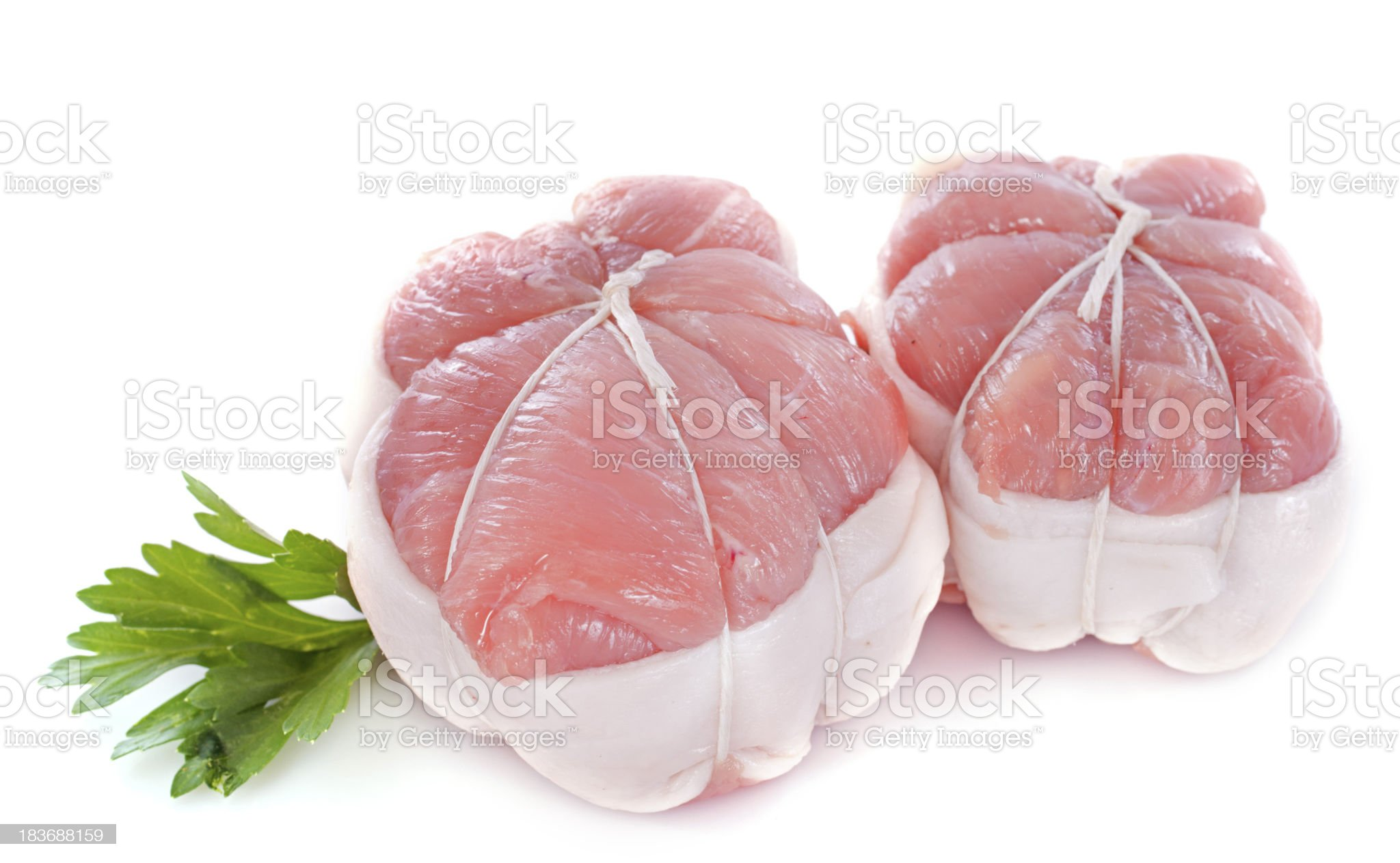 veal paupiette royalty-free stock photo