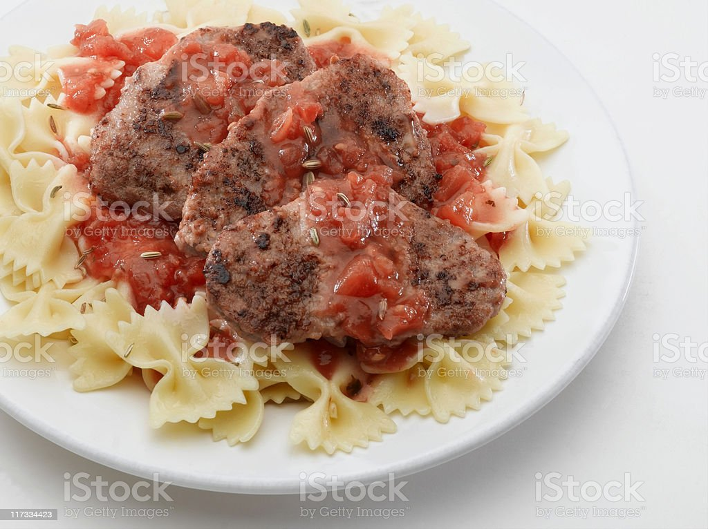 Veal Scallopini royalty-free stock photo