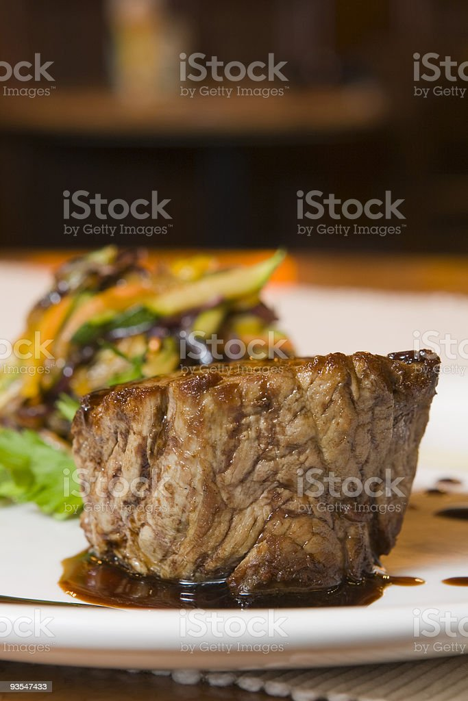 veal tenderloin royalty-free stock photo