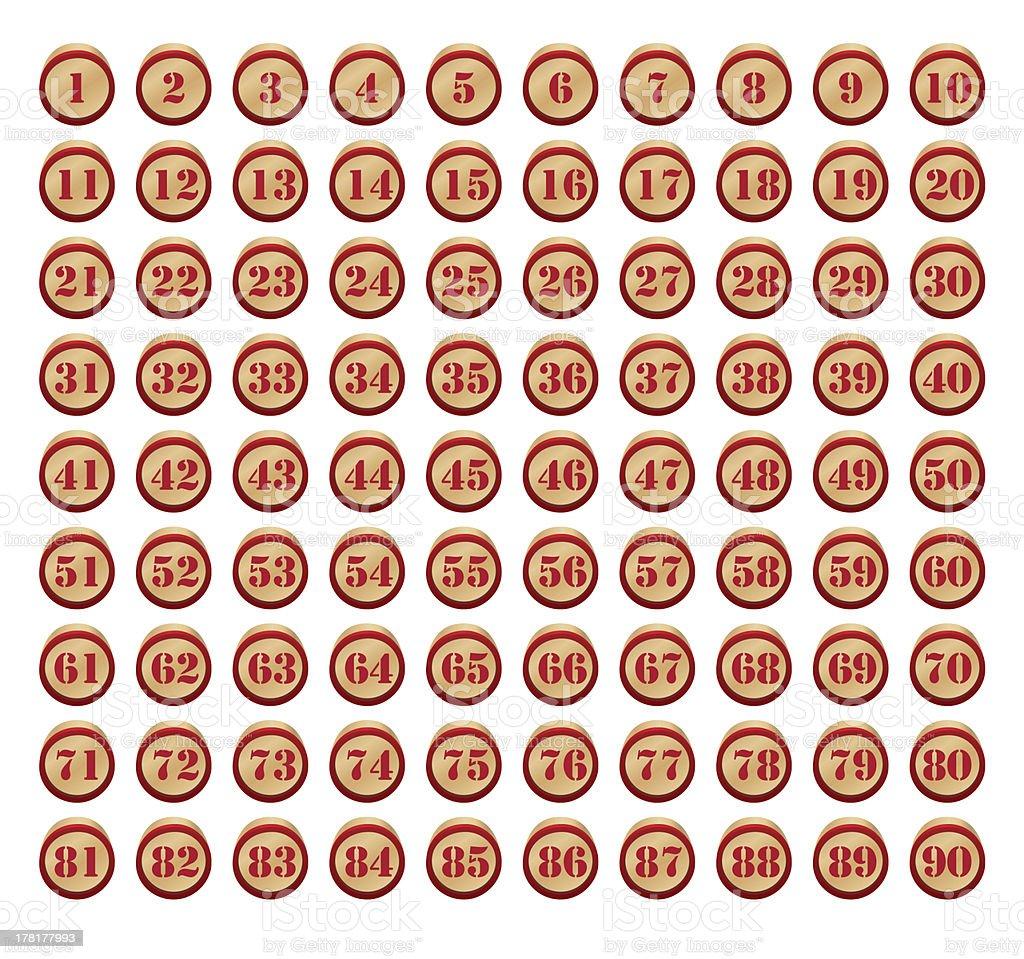 vector bingo stock photo