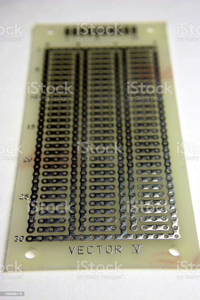 Vector Board royalty-free stock photo