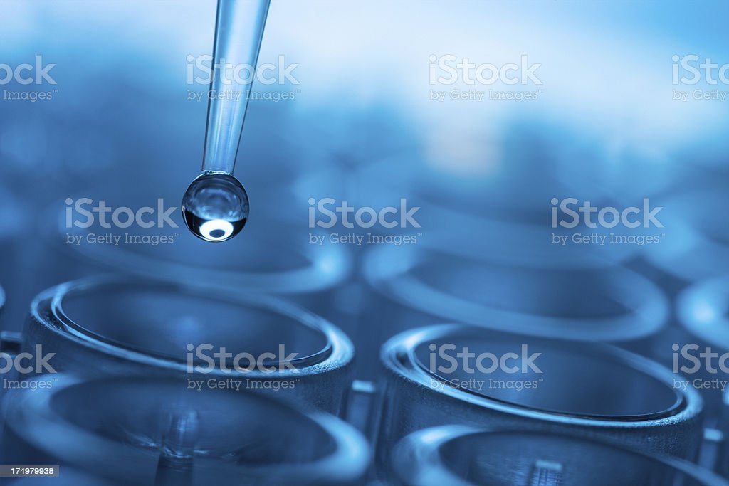 Vector illustration of biomedical test stock photo