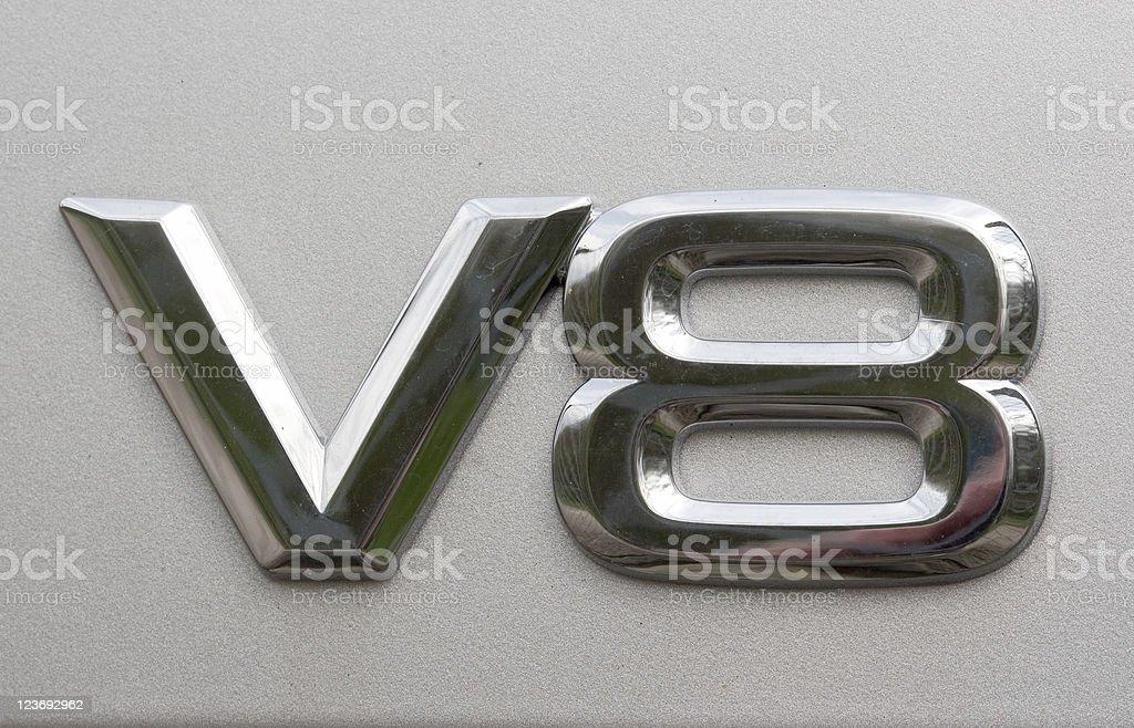Vee Eight royalty-free stock photo