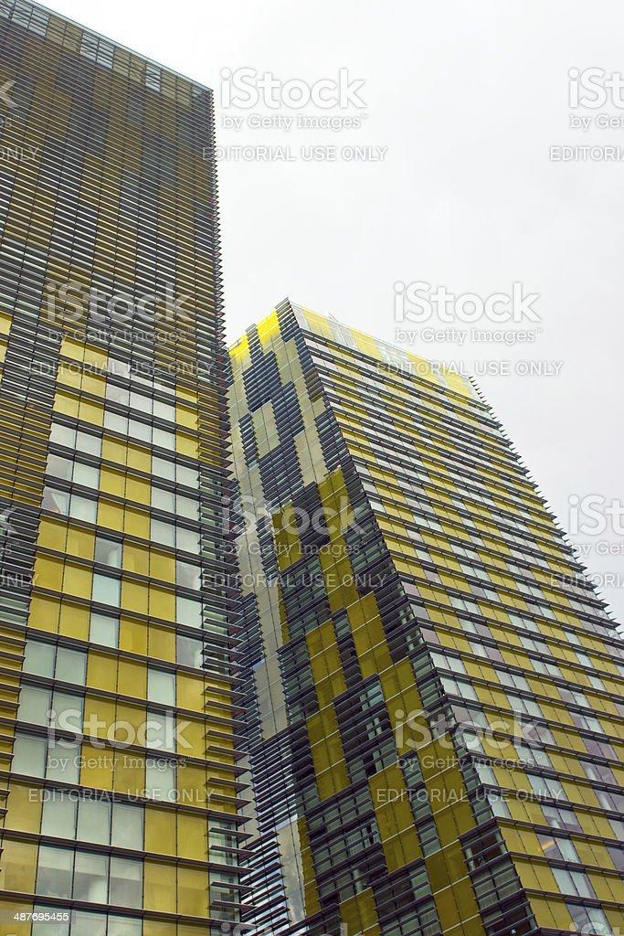 Veer towers stock photo