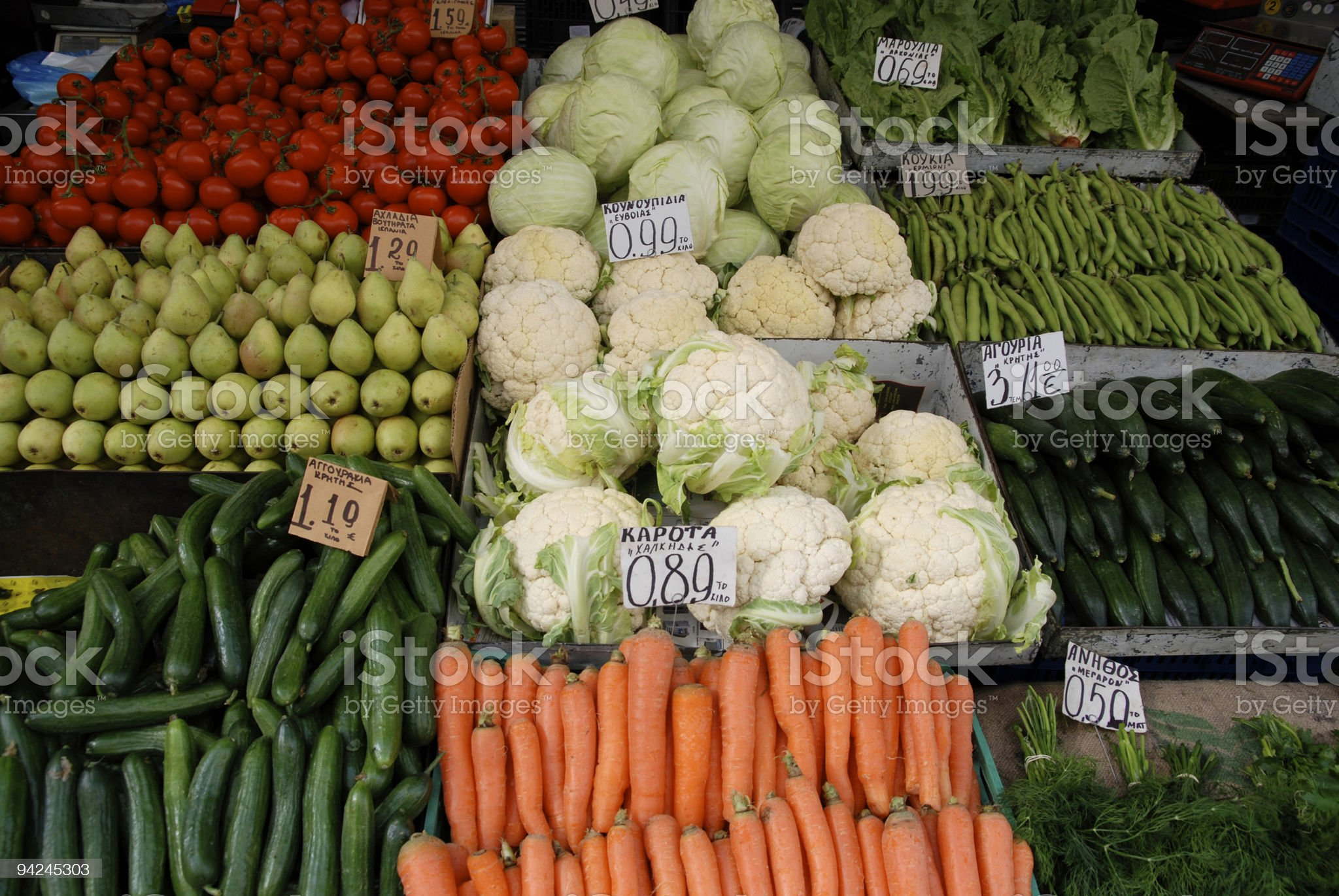 veg stall royalty-free stock photo