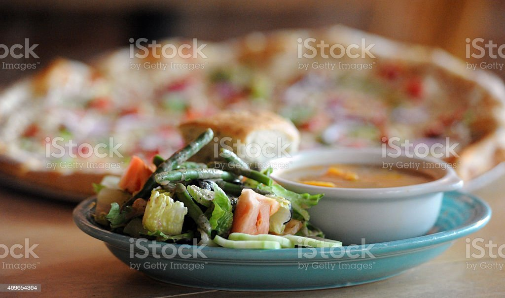 Vegan Combo Isolation stock photo