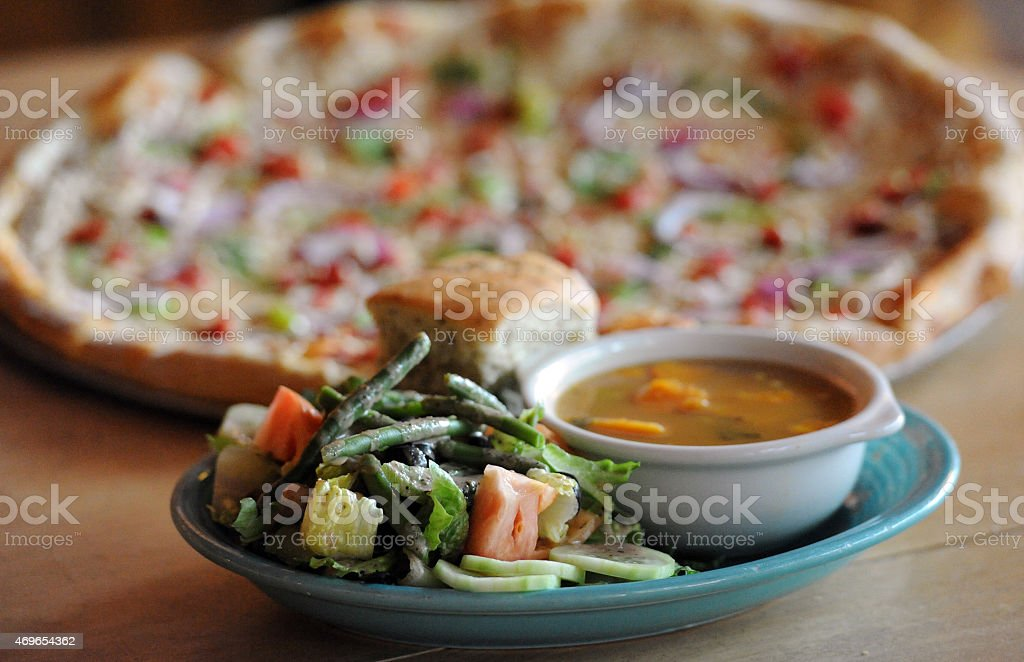 Vegan Combo Presented stock photo