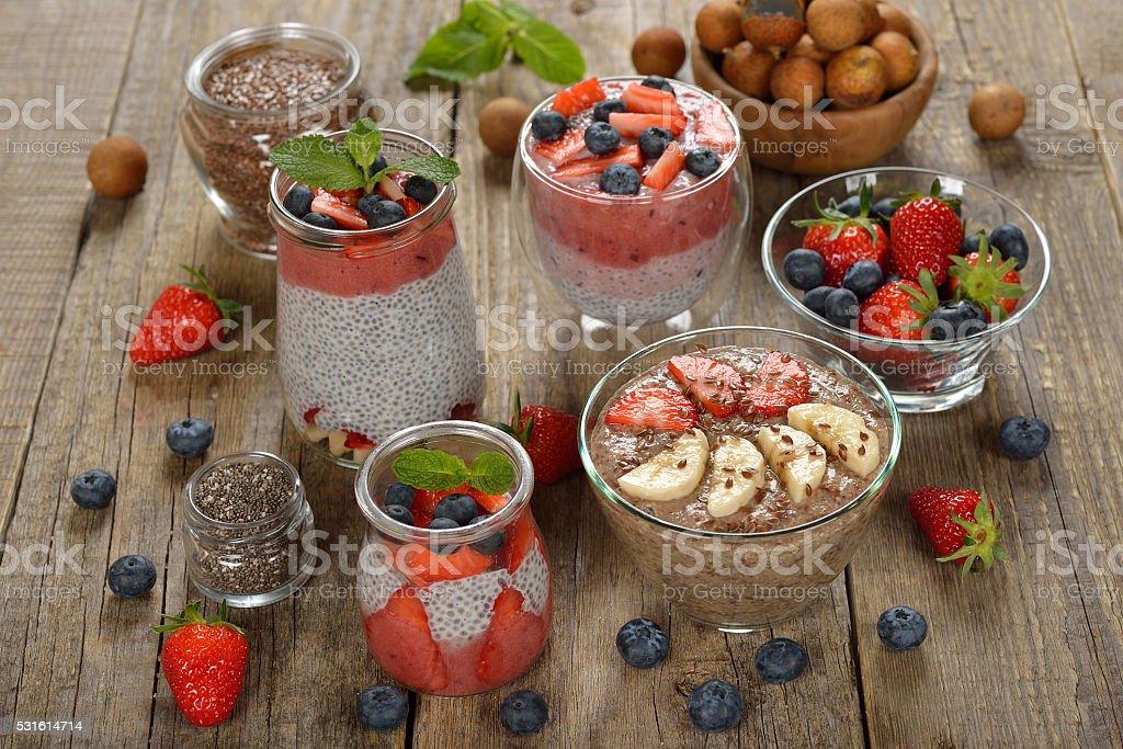 Vegan desserts stock photo