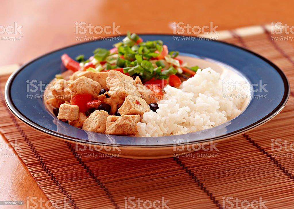 Vegan Dish royalty-free stock photo