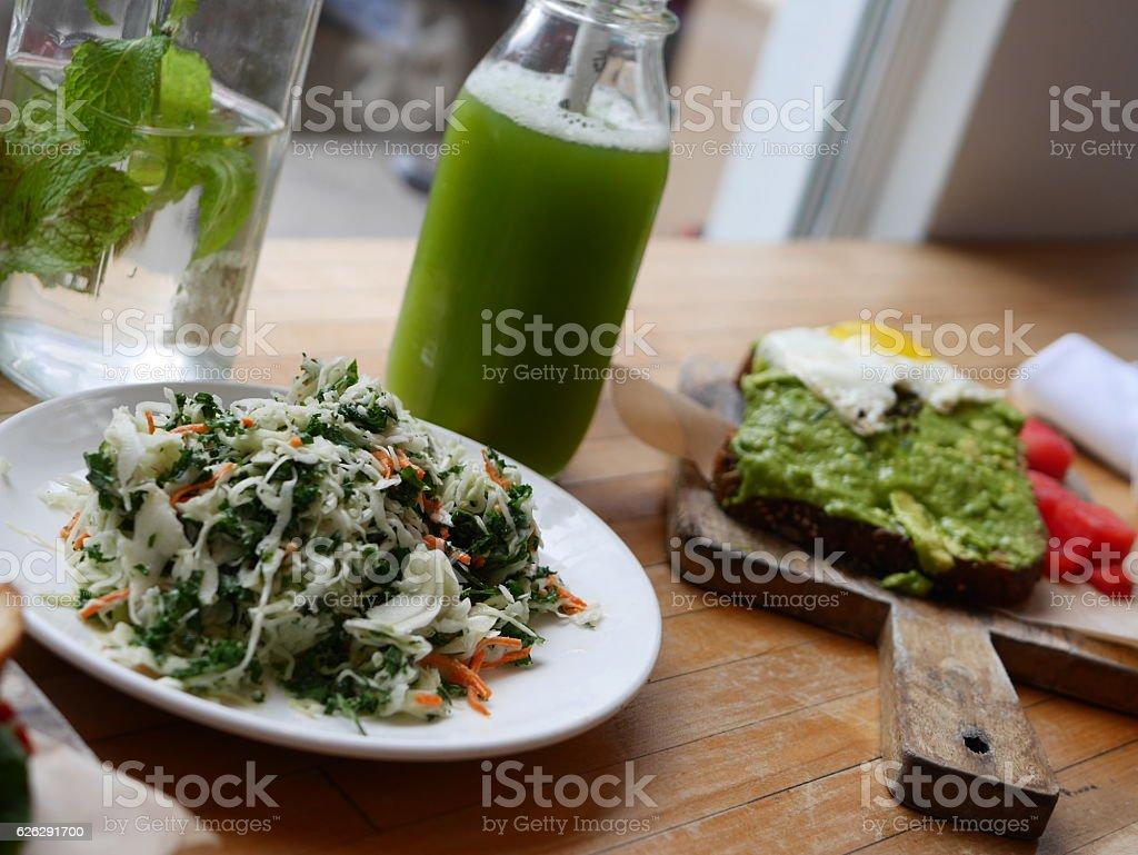 Vegan Food et Drink stock photo