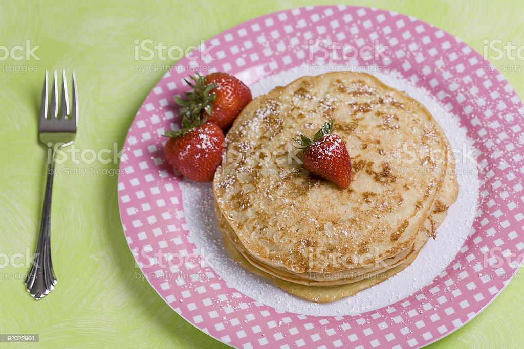 Vegan Pancakes royalty-free stock photo